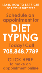 Make an Appointment for Diet Typing Today!
