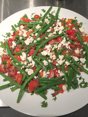 Fresh Green Bean & Tomato 'Crack' Salad