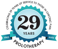 Celebrating 25 years of Prolotherapy!